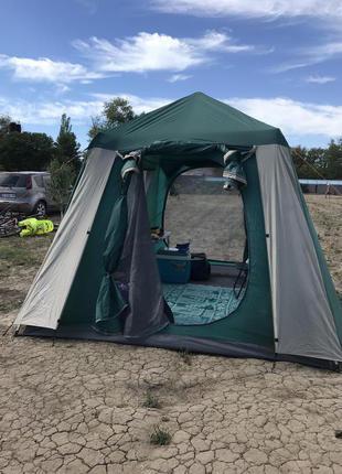 Аренда кухонного шатра-палатки в Одессе автомат с полом