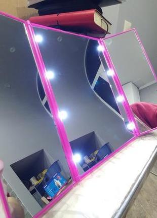 Зеркало для макияжа Mindo