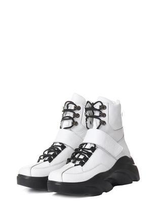 Крутые зимние ботинки на шнурках, вездеходы