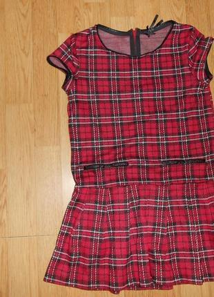 Платье на девочку 9 лет стильное,фирменное  next