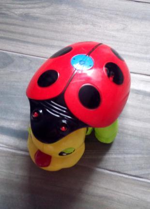 """Интерактивная игрушка для детей """"Божья коровка"""""""
