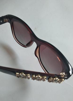 Солнцезащитные очки dior со стразами