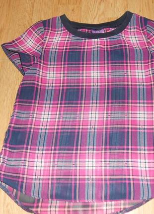 Блуза на девочку 7-8 лет