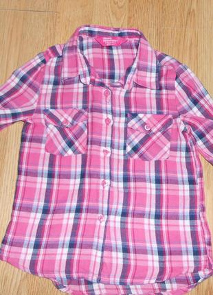Рубашка на девочку 6-7 лет