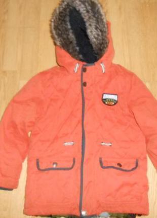 Куртка на мальчика 5-6 лет