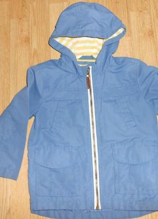 Куртка-ветровка на мальчика 3-4 года