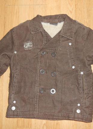 Куртка-бушлат на мальчика 2-3 года