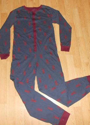 Пижама-человечек на мальчика 13 лет