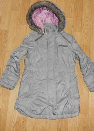 Куртка-пальто на девочку 5-6 лет