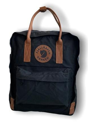 Рюкзак fjallraven kanken no.2 black (original)