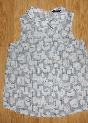 Блуза на девочку 8-9 лет