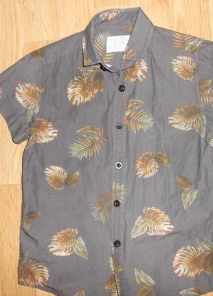 Рубашка на мальчика 6 лет
