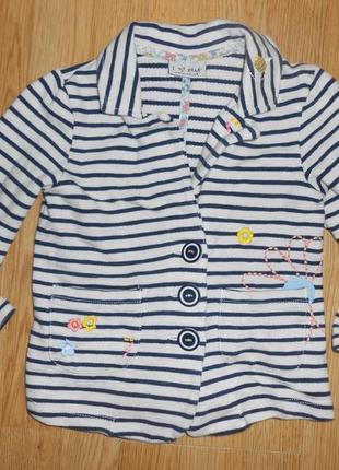 Пиджак на девочку 3-4 года