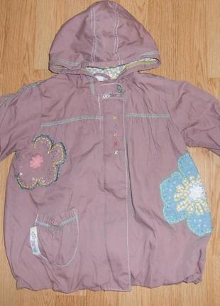 Куртка-ветровка на девочку 2-3 года