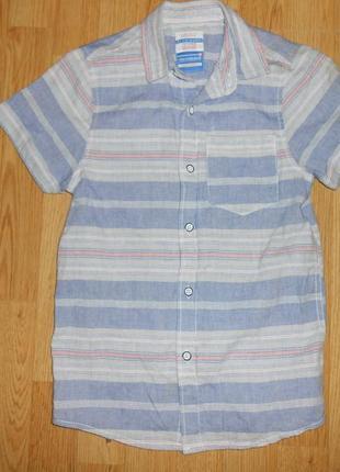 Рубашка на мальчика 8-9 лет