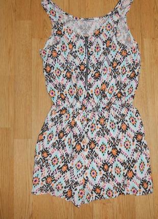 Платье-ромпер (комбез) на девочку 12 лет