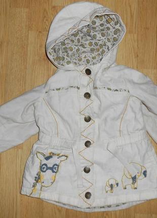 Куртка-верровка на девочку 3-4 года