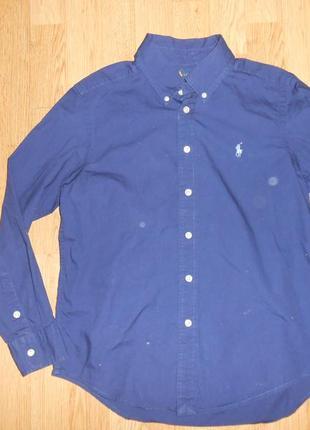 Рубашка на мальчика 10-12 лет