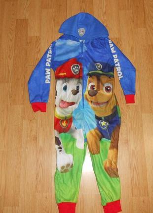 Пижама-человечек на мальчика 2-3 года