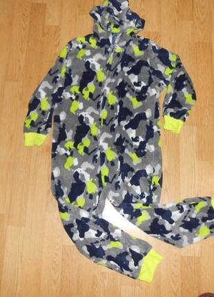 Пижама-человечек на мальчика 9-10 лет
