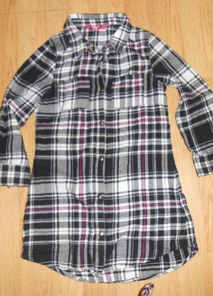 Рубашка на девочку 5-6 лет