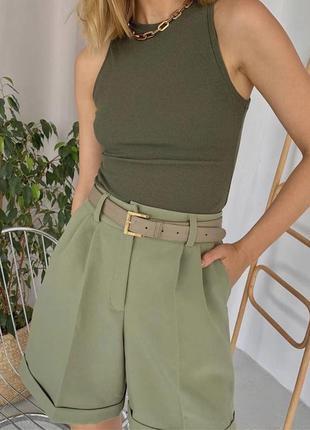 Женские шорты бермуды
