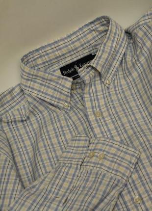 Polo ralph lauren рр xl 16 1/2 34/35  рубашка из хлопка