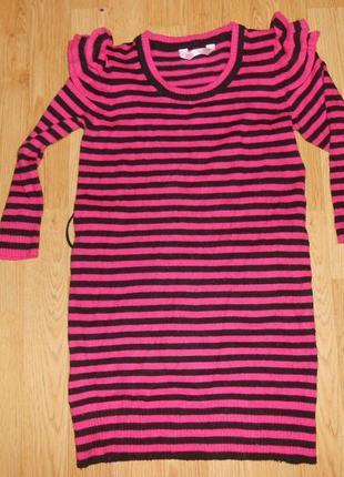 Платье-туника на девочку 10-11 лет