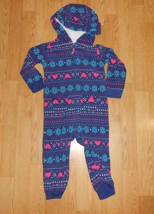 Пижама-человечек на девочку 2 года
