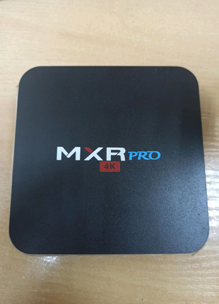 МXR pro 4k Android TV box/ приставка