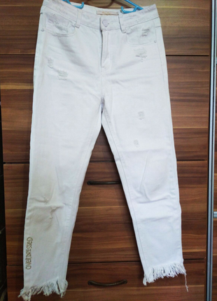 Білі джинси.