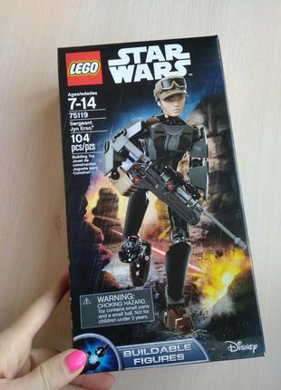 Lego 75119 star wars сержант jyn erso джин эрсо
