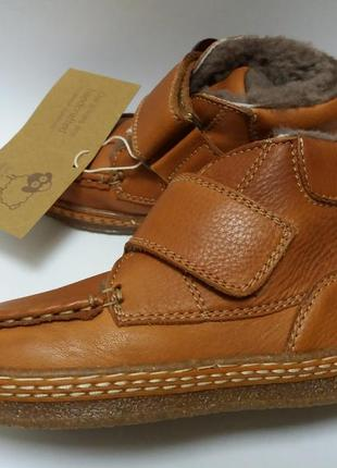 Bisgaard португалия зимние ботинки. размер 27. натуральная овчина