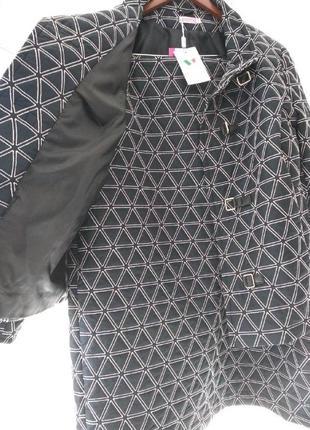 Костюм- пальто осень-весна размер 58