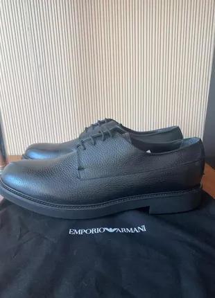 Emporio Armani мужские туфли новые