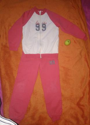 Спортивний костюм красний, 146см