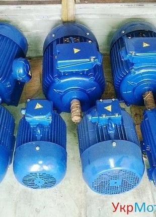 Электродвигателя 3000 ,1500,1000,750 об/мин,от 0.18 до 200 кв.