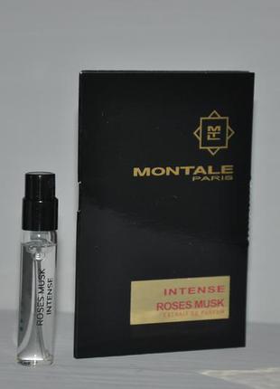 Montale intense roses musk пробник 2ml