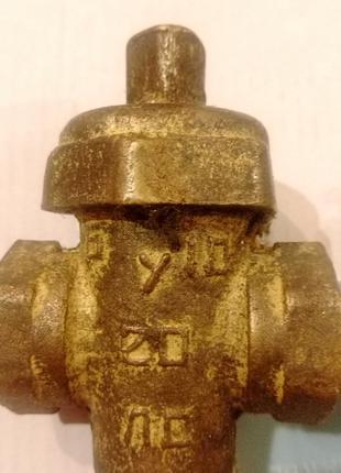 Газовый кран  латунный РУ10-15  РУ10-20ЛС
