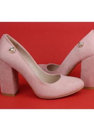 Туфли пудровые