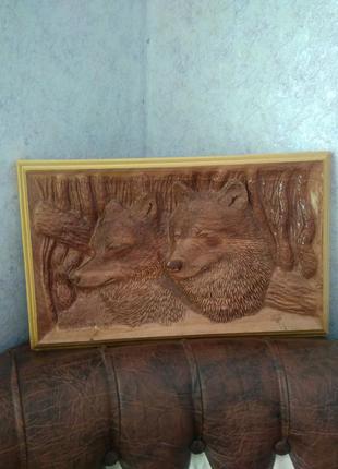 """Картина"""" Волки"""""""