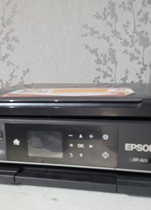 Струйный принтер Epson xp-422 с СНПЧ