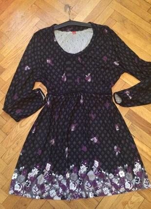 Платье длинный рукав от бренда s.oliver