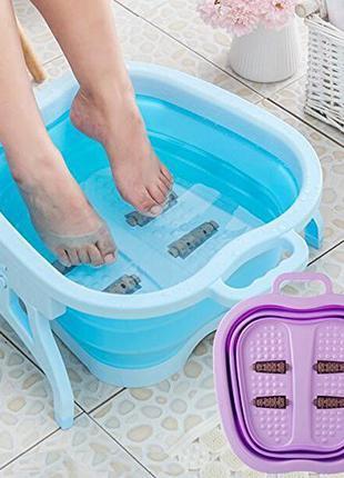 Новая спа-ванна для ног с массажными роликами