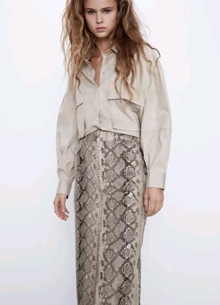 Трендовая юбка Zara