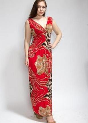 Летнее платье сарафан микромасло ,макси от бренда inc