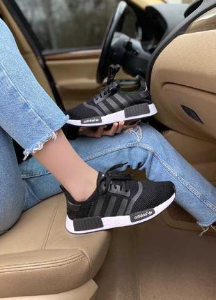 Кроссовки Adidas NMD R1 black/white