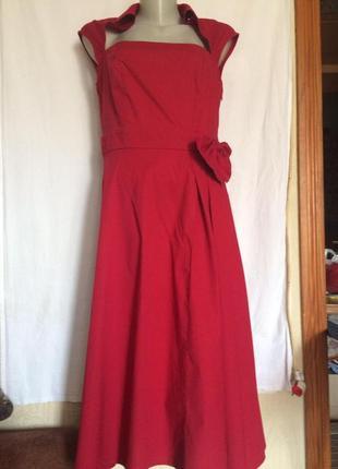 Нарядное ,оригинальное платье,хлопок,от бренда chicstar