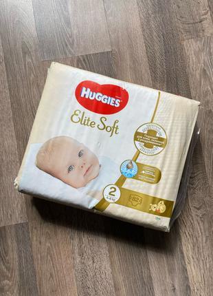 подгузники Huggies Elite Soft 82 шт