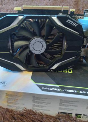 Видеокарта NVIDIA 1060 3gb MSI